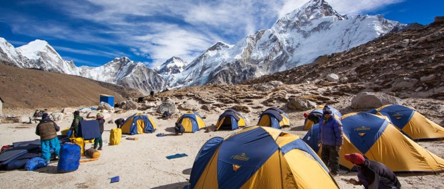 base camps of nepal